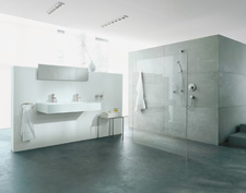Axor Steel bathroom